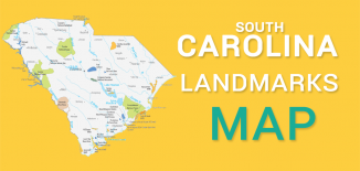 South Carolina Landmarks Map Feature