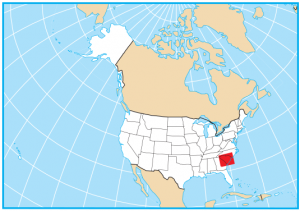 South Carolina Map Extent