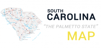 South Carolina Map Feature