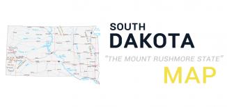 South Dakota Map Feature