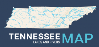 Tennessee Lakes Rivers Map Feature