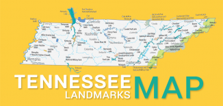 Tennessee Landmarks Map Feature