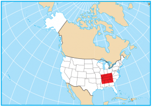 Tennessee Map Extent