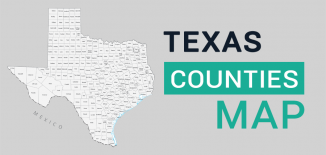 Texas County Map Feature