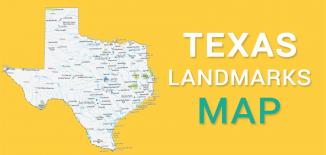 Texas Landmarks Map Feature