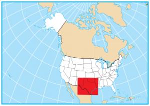 Texas Map Extent