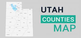 Utah County Map Feature