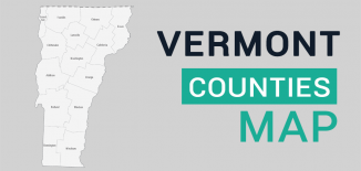 Vermont County Map Feature