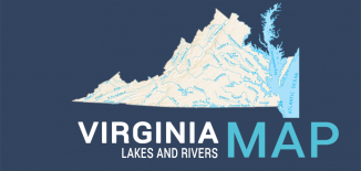 Virginia Lakes Rivers Map Feature