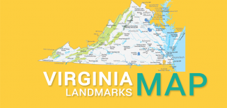 Virginia Landmarks Map Feature