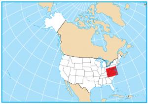 Virginia Map Extent