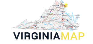 Virginia Map Feature