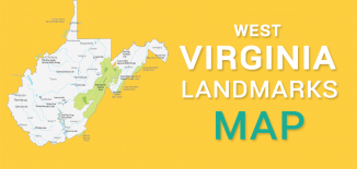 West Virginia Landmarks Map Feature