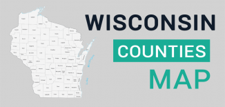 Wisconsin County Map Feature