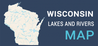 Wisconsin Lakes Rivers Map Feature