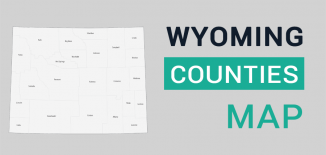 Wyoming County Map Feature