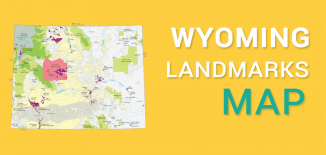 Wyoming Landmarks Map Feature