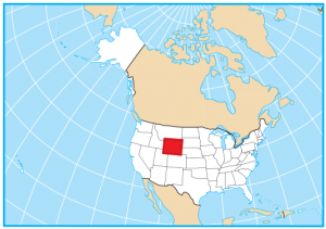 Wyoming Map Extent