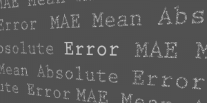How to Calculate Mean Absolute Error (MAE) in Excel