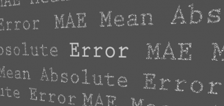 mean absolute error