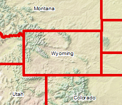 Wyoming in Center
