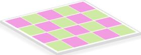 Checkboard Pattern: Spatial Autocorrelation