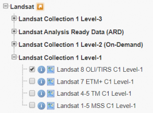 landsat collection