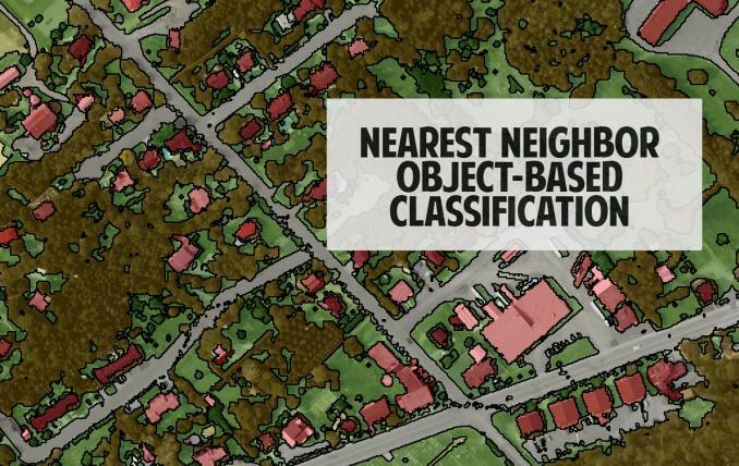 Nearest Neighbor Classification Technique in Object-Based Image Analysis