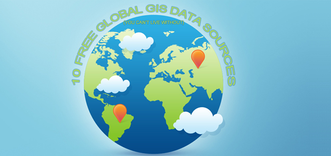 10 Free Gis Data Sources Best Global Raster And Vector