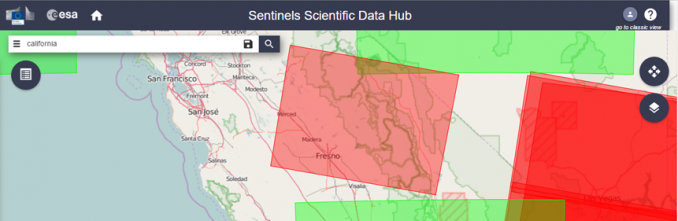 Free GIS Data - Sentinel Satellite Data