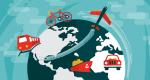 10 Transportation Maps: Planes, Trains & Automobiles