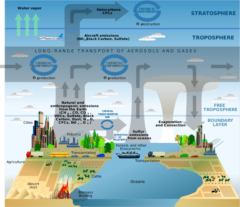 Climate Change Effects Explained in Maps - GIS Geography