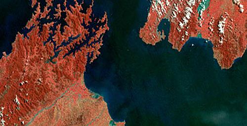 image satellite landsat gratuit