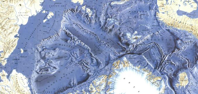 Ocean Floor Elevation Map : Map ocean floor topography thefloors