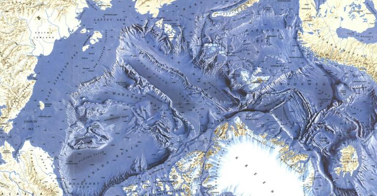 5 Maps That Explain the Arctic