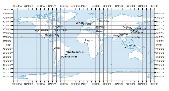 Map Of Canada With Latitude And Longitude.Latitude Longitude And Coordinate System Grids Gis Geography