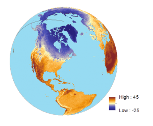 Land Surface Temperature April 2014