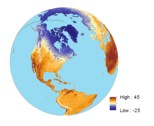Land Surface Temperature April 2015