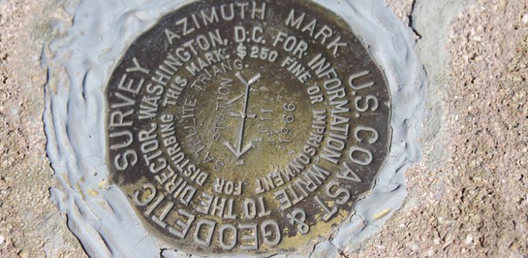 Survey Benchmark Monument Locations