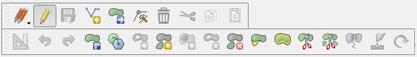 QGIS Editor Toolbar