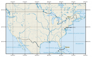 North America: Mercator