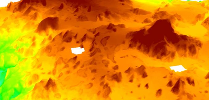 DEM holes - Fill NoData