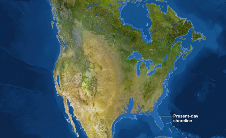 national geographic if all ice melted these national geographic sea level maps show the world