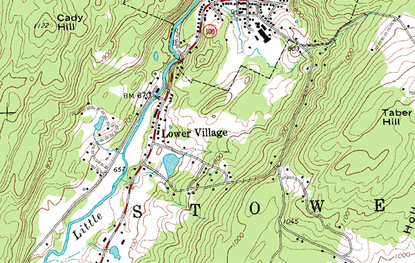 Topographic Map - USGS Formats DRG, DLG and DOQ