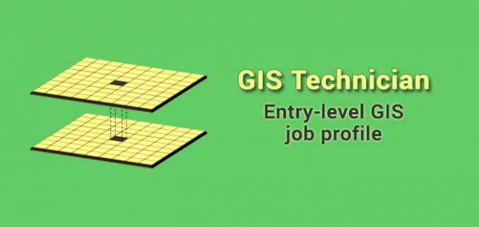 gis technician job profile