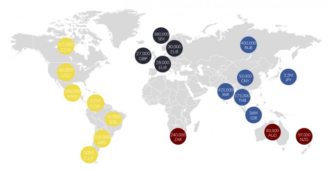 Cartographer Salary Map