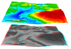 SAGA GIS 3D Mapping Anaglyph