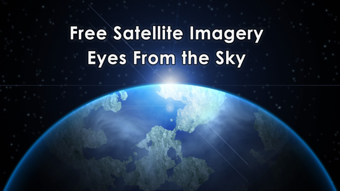 Free Satellite Imagery