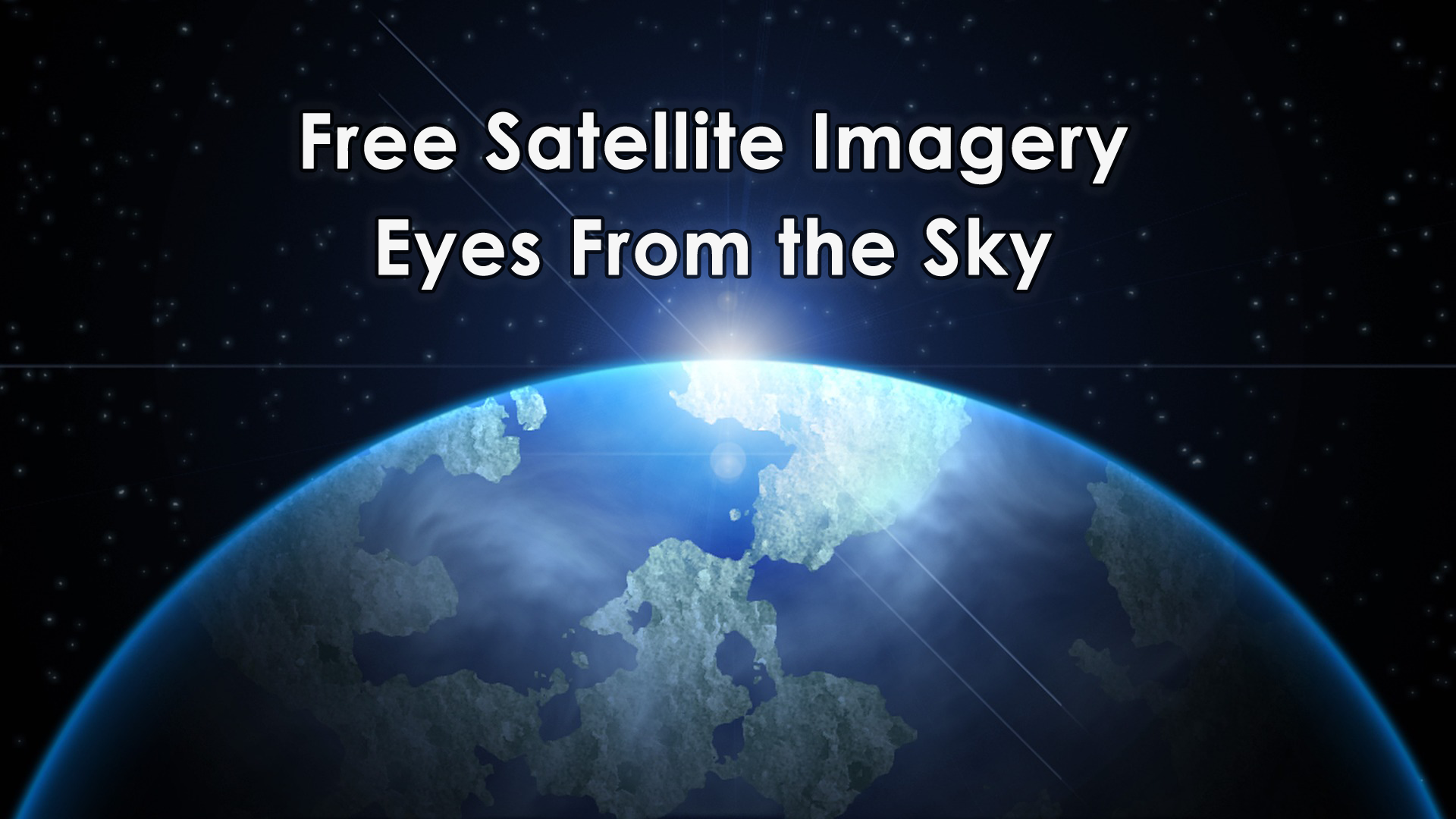 15 free satellite imagery data sources gis geography