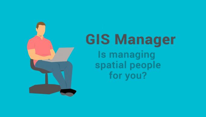 gis manager job
